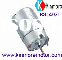 Low cogging carbon Brush motor RS-550SH for Air pump, Water pump, EPB