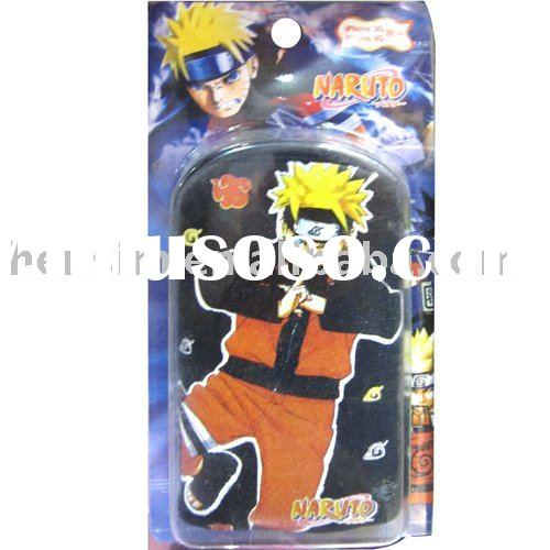 NARUTO mobile phone pouch  for iphone3G 4G HS4766 wholesale + mix order