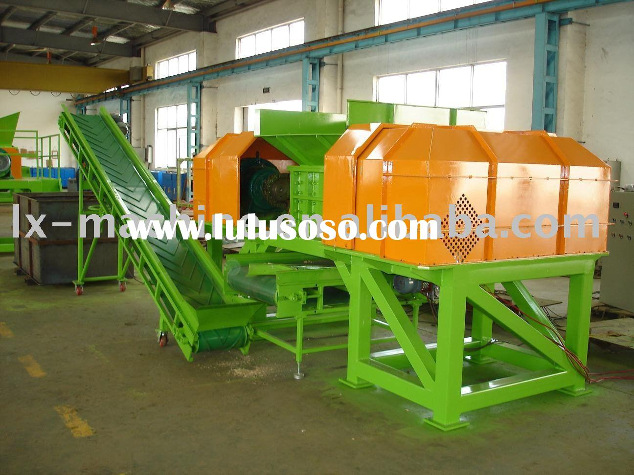 Plastic Four Shaft Shredder
