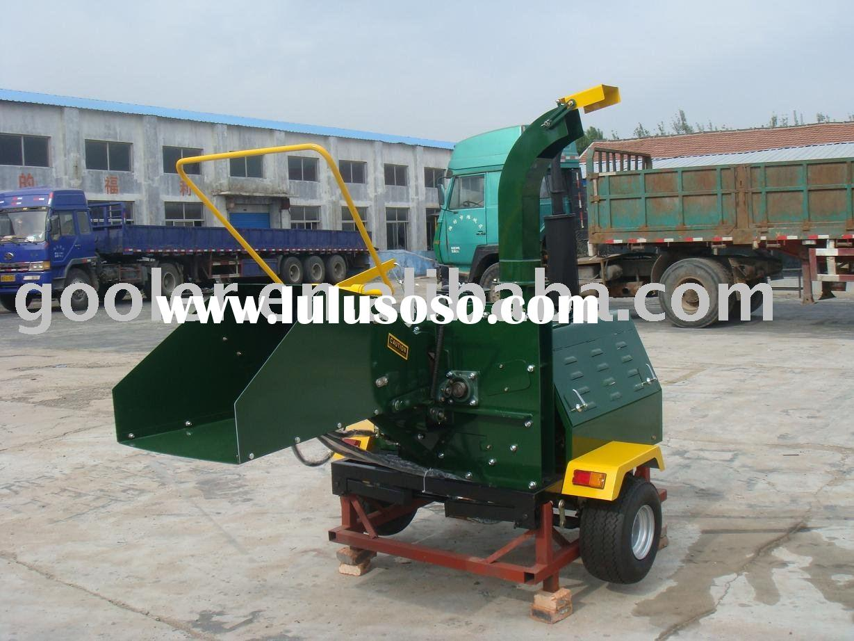 Wood chipper shredder with 40HP CE/EPA engine, hydraulic/industrial wood chipper