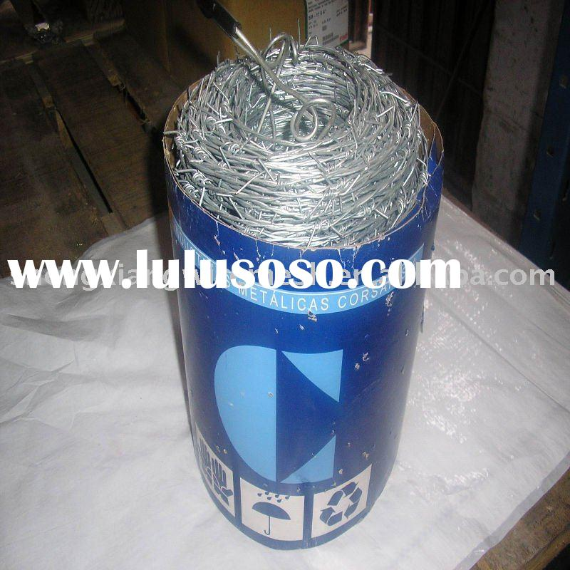 galvanized barbed wire(fence)