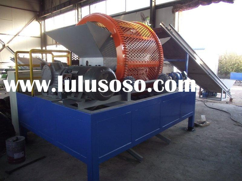 grind all kinds of metal and non-metal material Multifunctional Twin-Shaft Shredder