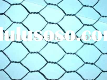hexagonal wire mesh cage
