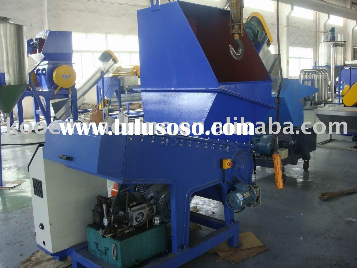 industrial single shaft shredder