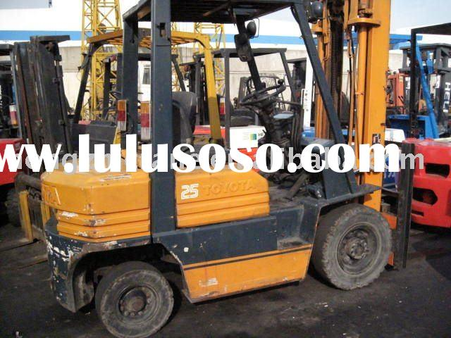 2.5 ton TOYOTA  FD25 used manual forklift