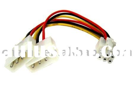 Computer wire harness( wire harness for motherland, cable for PCI express extra power )