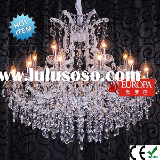 Contemporary Dining Crystal lighting 8061-12+6+1 Luxury Design