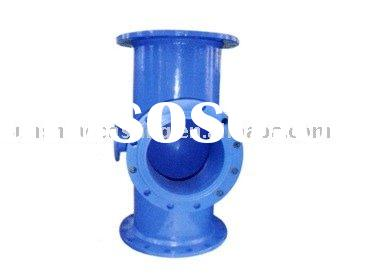 Ductile Cast Iron Pipe Fittings-All Flange Tee