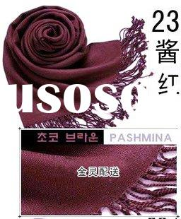 Exist Goods Pashmina Scarves and Shawls Solid color