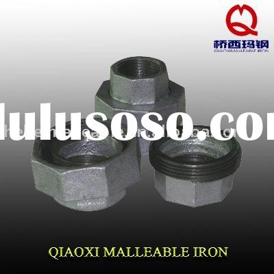 G.I PIPE FITTINGS, galvanized malleable iron pipe fittings