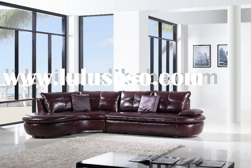 Hot sale  modern Top Italian leather  living room sofa