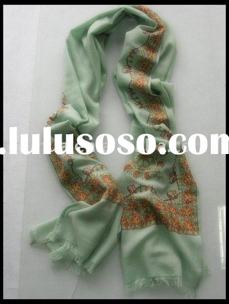 Indian Paterns Pashmina Shawl with Fine Embroidery----40% Off
