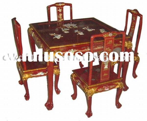 Oriental dining room sets,dining chair,dining table