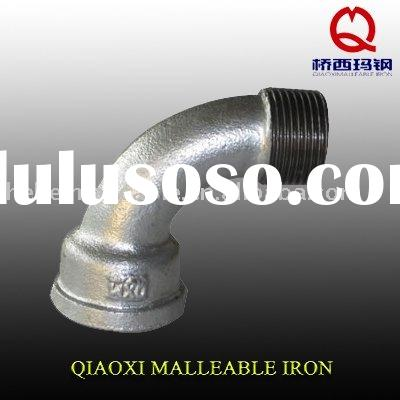QIAO brand malleable iron pipe fitting-galvanized M&F bend