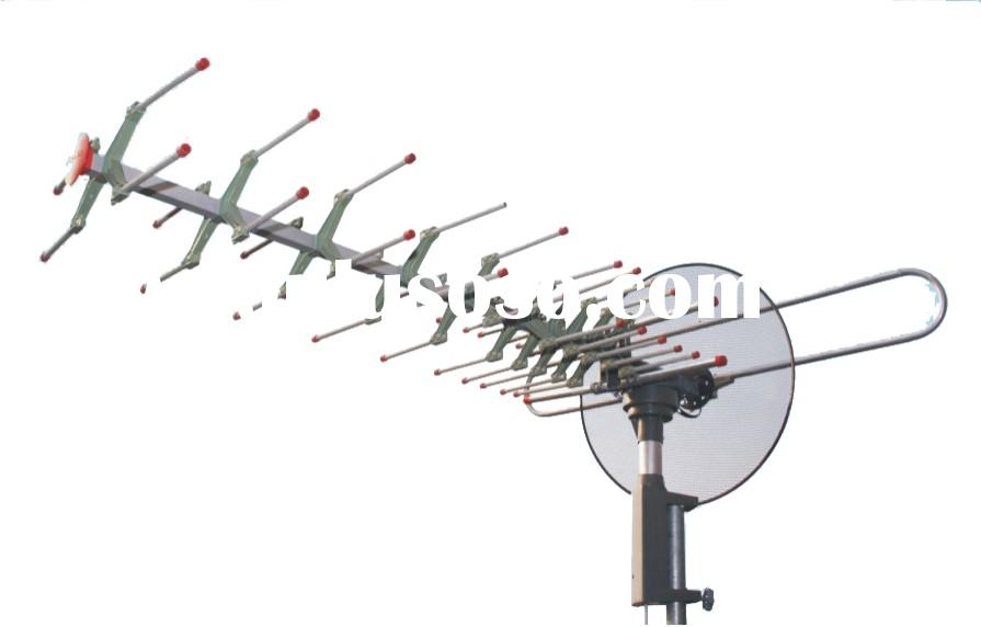 Remote Controlled Rotating Outdoor Antenna