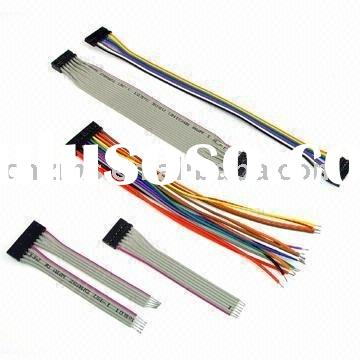 Sell flat cable harness(Rainbow wire harness,UL2468 FLAT cable harness.UL 2651 FLAT cable harness)