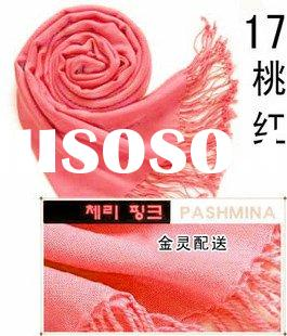 Stock Pashmina Scarves and Shawls Fuxia
