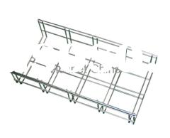 Wire Maid Cable Tray/Wire Basket Cable Tray