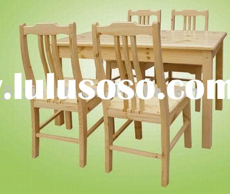 Laguna Solid Wood Dining Set - Cherry Dining Table and Chairs