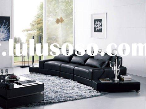living room sofa set/modern leather sofa set 909#