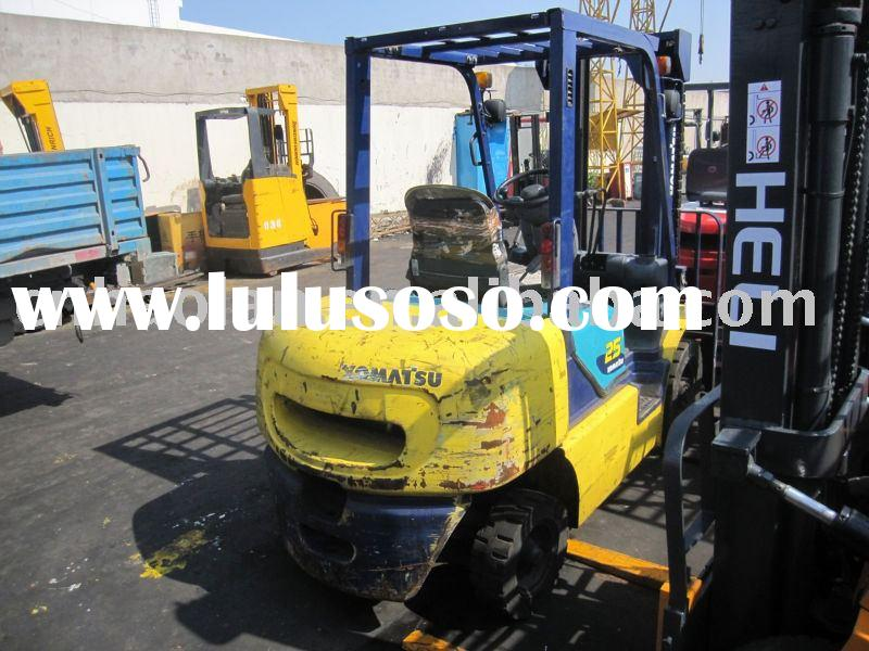 second hand forklift 2.5t for sale(second hand forklift forklift used construction machinery)
