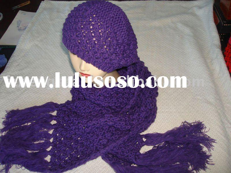 sets - hat and scarf