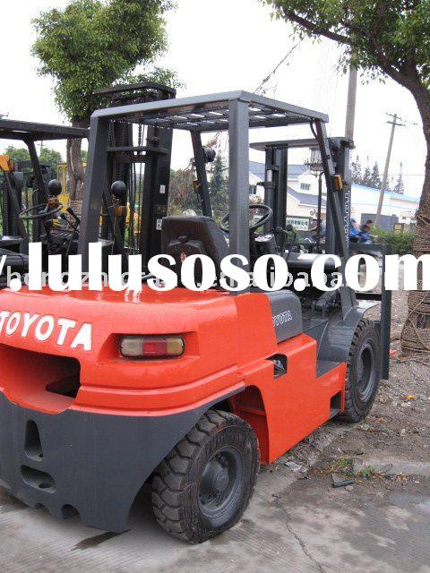 used TOYOTA forklift 5 tons for sale