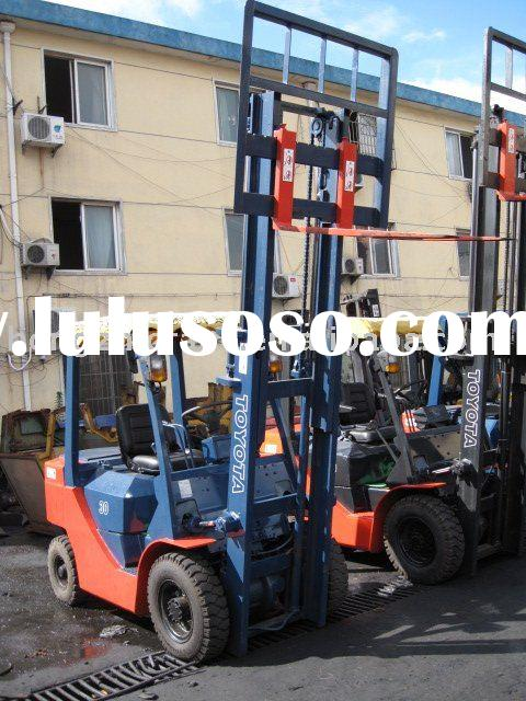 used electric forklift Toyota 8FD30T