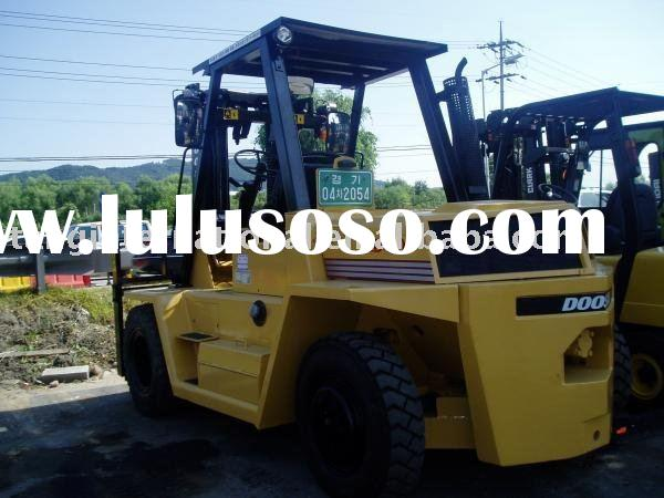 used machine doosan forklift
