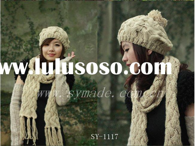winter hat and scarf sets