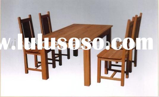 wooden dining room set W-DF-9030