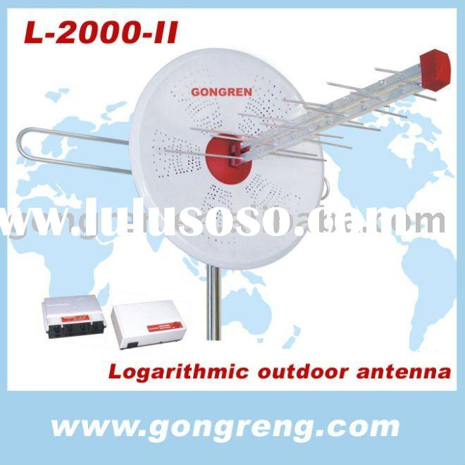 yagi & logarithmic tv antenna
