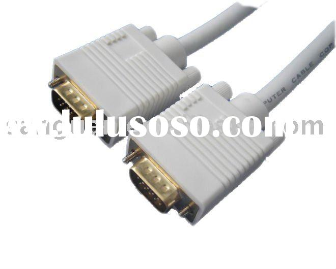 15 pin male to male VGA cable
