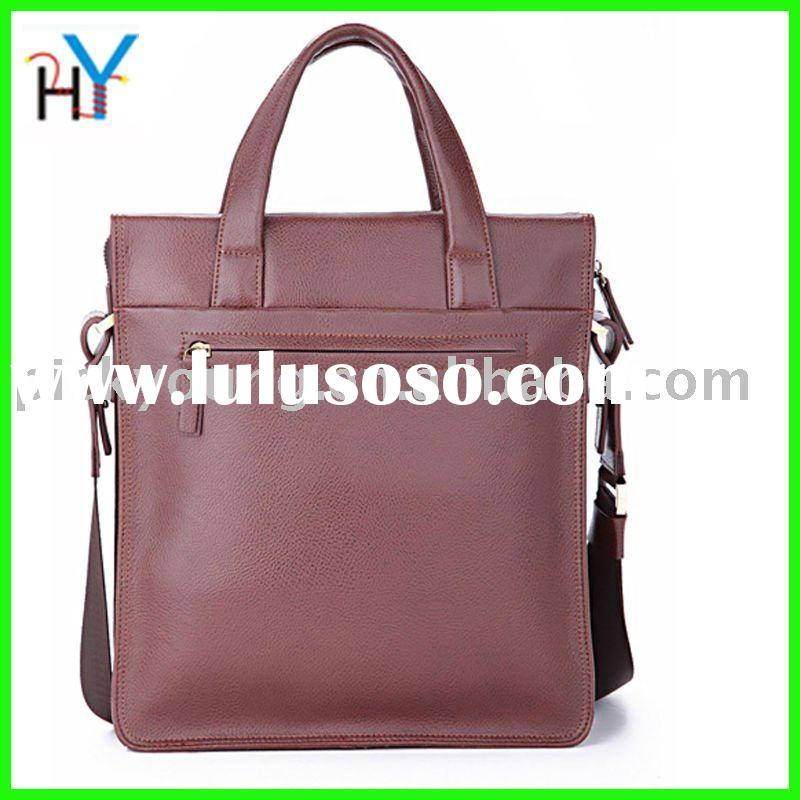 2011man's hot selling  real leather handbags,free shipping