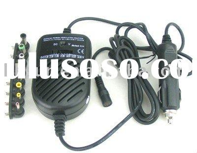 80W Universal Laptop/Notebook DC CAR Charger Power Adapter