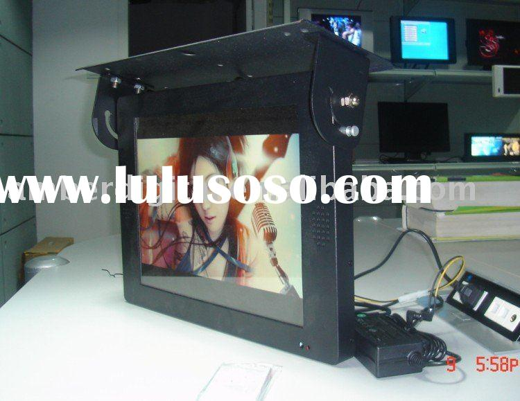 Bus Vehicle LCD AD display. Bus USB lcd Monitor advertising , lcd screen AD player  for BUS/Vehicle