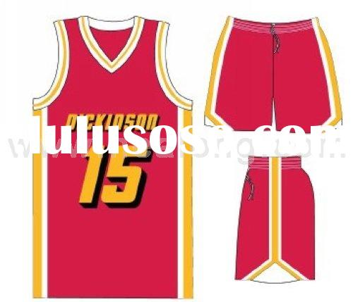 Custom Sublimation Basketball Wear