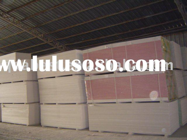 Fireproof Gypsum Board for drywall/partition/ceiling in construction and real estate
