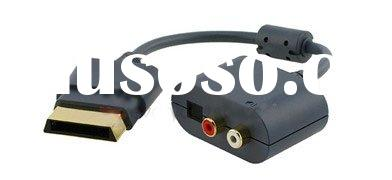 Optical Audio Adapter For XBOX 360 HDMI AV Cable Gamin