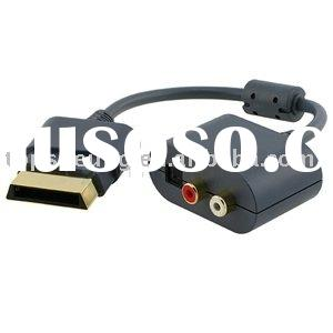 Optical Audio Adapter HDMI cable For XBOX 360 HDMI AV Cable game accessory