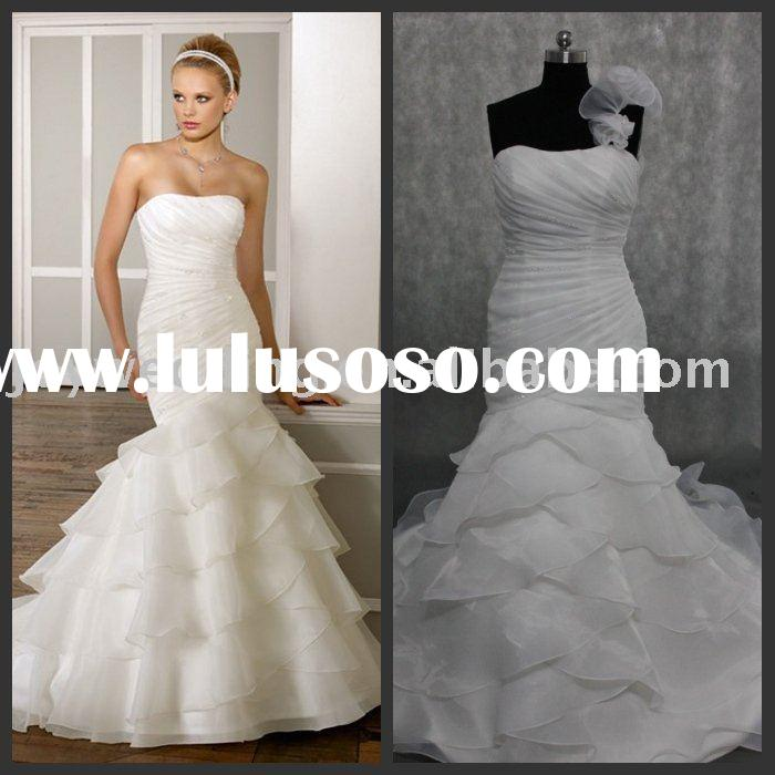 R0285 Free shipping real sample A-line Ball Gown Wedding Dresses