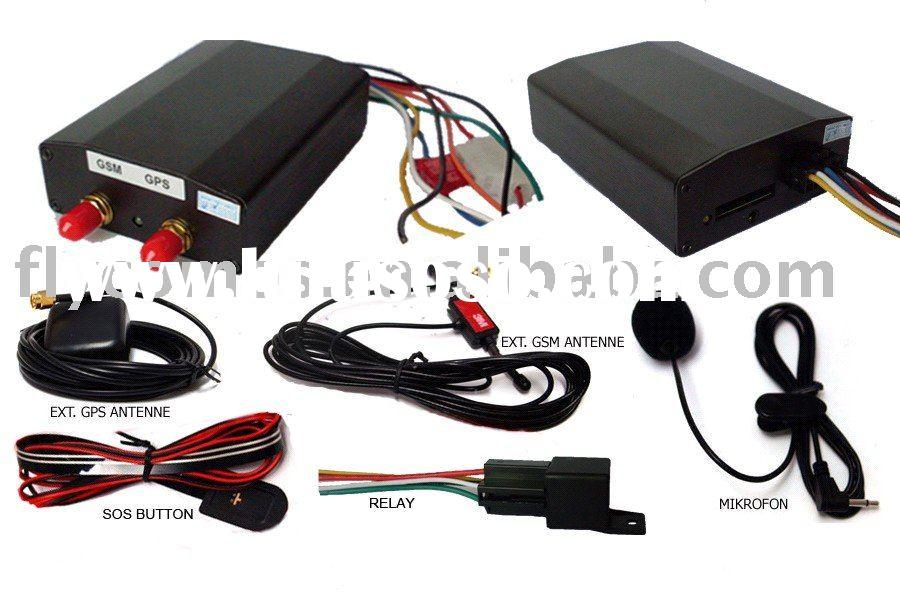 Real time vehicle gps tracking device