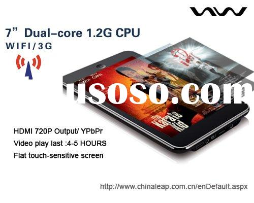 "Tablet PC, e-pad, Dual -Core 1.2G  7"" touch screen MID  tablet PC ANDROID GOOGLE SYSTEM"