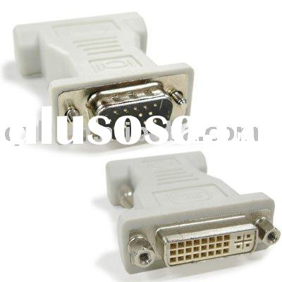 VGA Male to DVI Female Adapter,usb cable,hdmi cable,sata cable