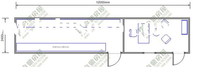 carteen and kitchen container house floor plan(offer container cost,equipments price)