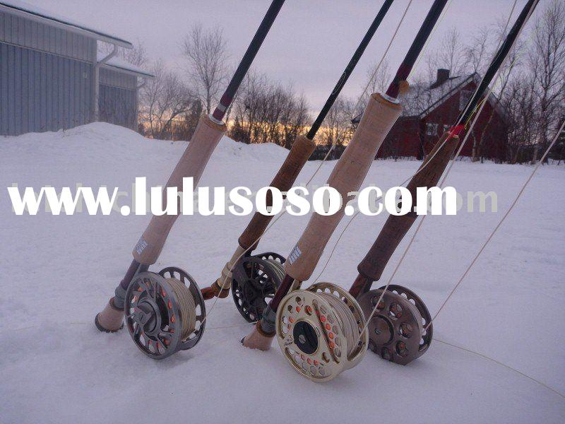 Fly Rod With Spinning Reel Fly Fishing Reel And Rod