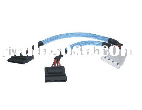 sata power adapter and splitter cable