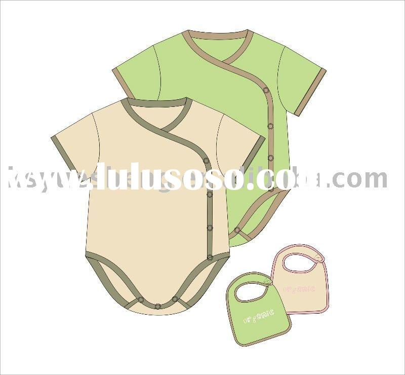 0-3 months old organic cotton baby clothesing