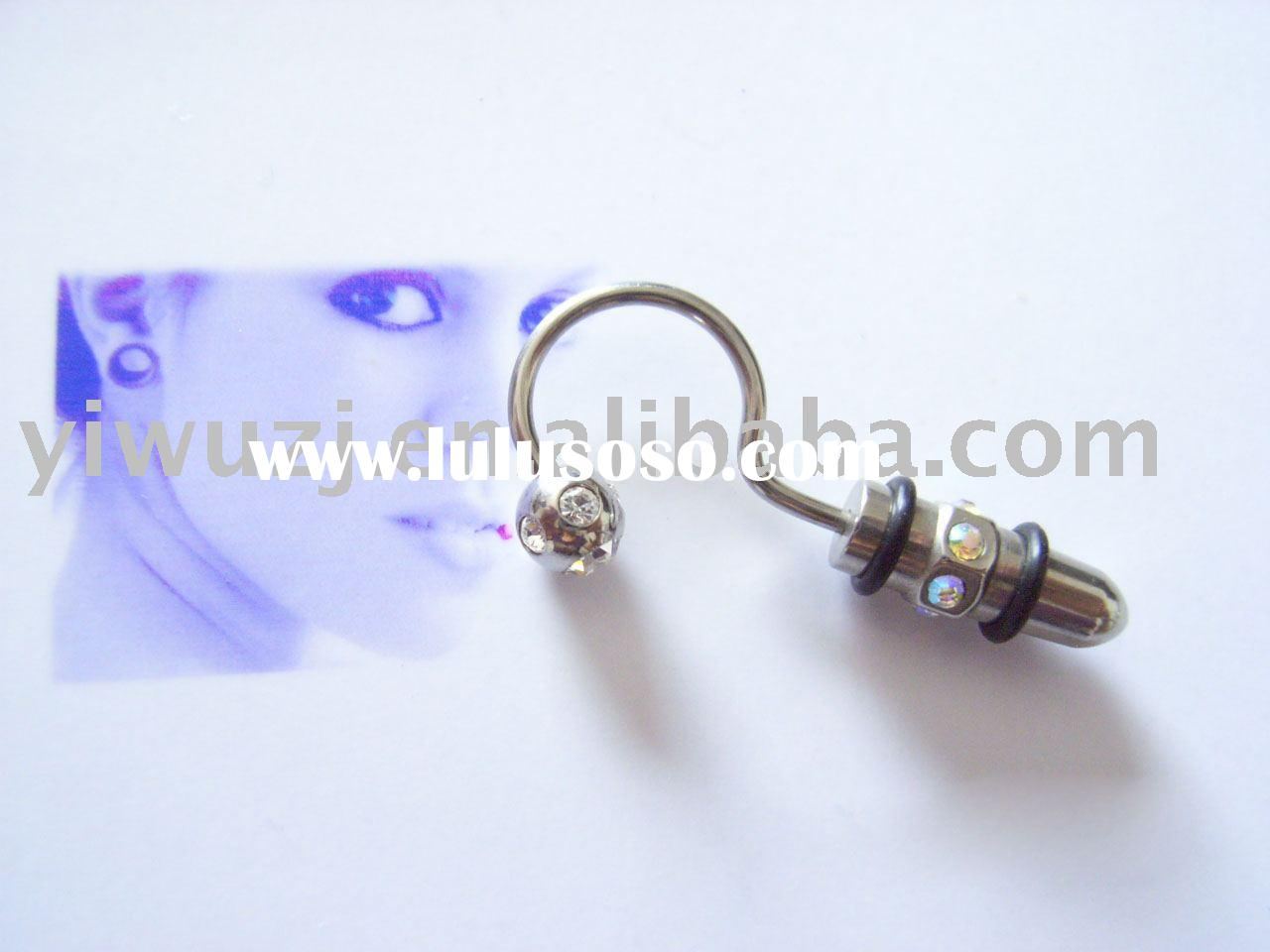 316L surgical stainless steel Body Jewelry-ear rings