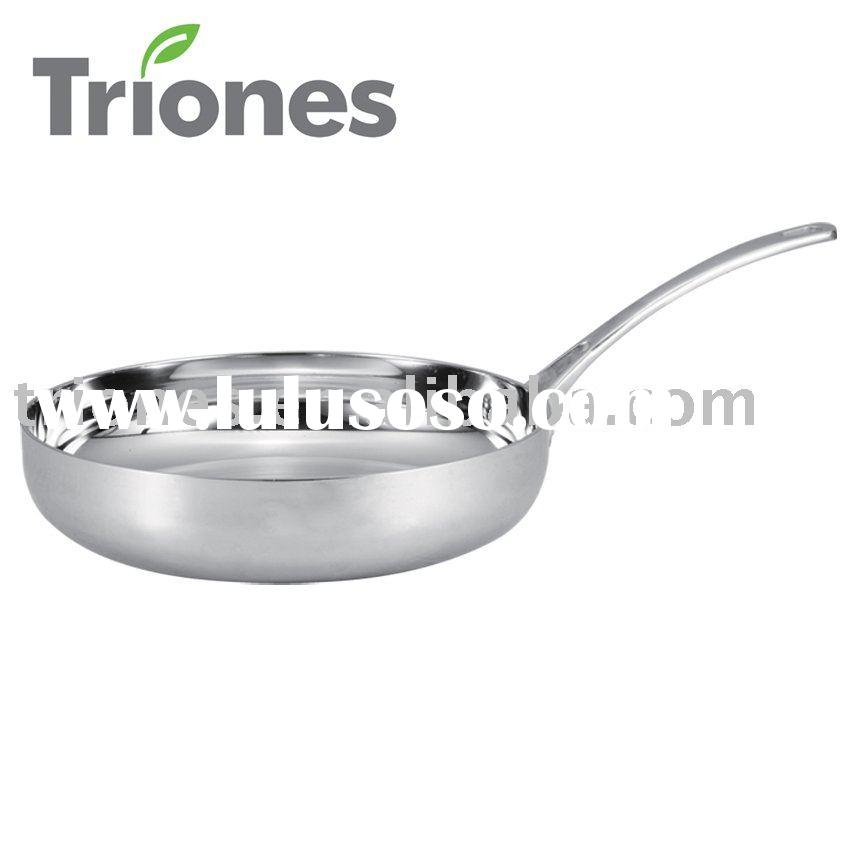 3-PLY CLAD Stainless STEEL FRY PAN